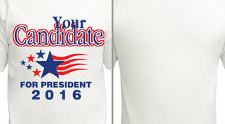 Your Candidate for President Design Idea