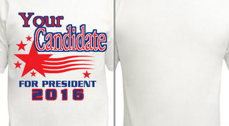 Your candidate for President 2016 Design Idea