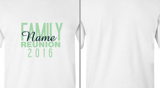 T-Shirt Design Ideas : Events : Family Reunion