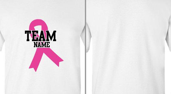 Pink Ribbon Team Design Idea
