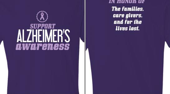 Alzheimer's Awareness Design Idea