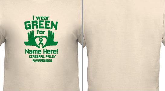 Green for Cerebral Palsy Design Idea