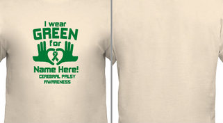 Green for Cerebral Palsy Design Idea