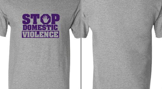 Stop Domestic Violence Design Idea