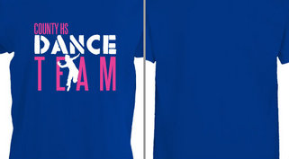 Stencil Dance Team Design Idea
