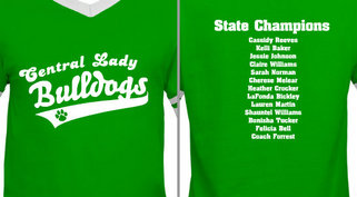 Central Lady Bulldogs Design idea