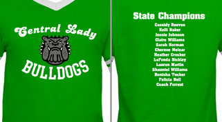 Central Lady Bulldogs Mascot Design Idea