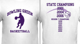 Basketball Player State Champs Design Idea