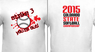 Strike 3 State Softball Design Idea