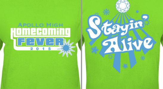 Homecoming Fever Design Idea