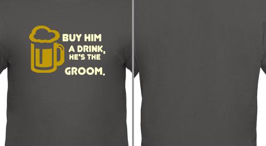 Bachelor Party Drink Design Idea