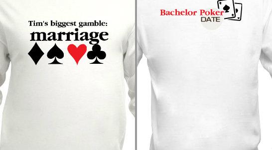 Bachelor Party Poker Design Idea
