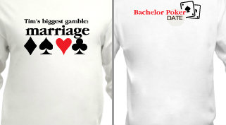 Bachelor Party Poker Design Idea