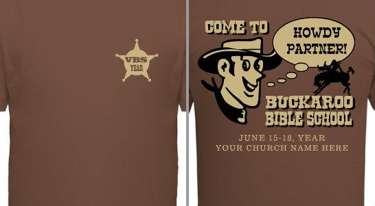 Cowboy VBS Design Idea