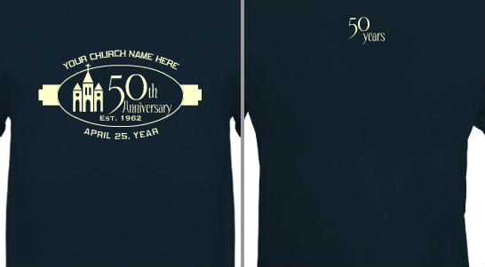 Church Anniversary Design Idea