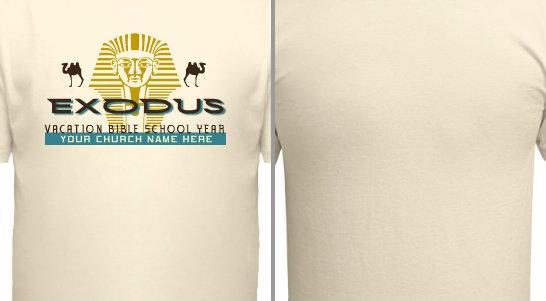 Exodus VBS Design Idea