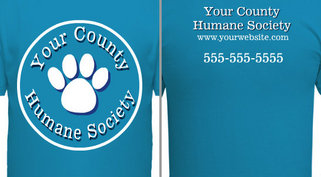 Your Humane Society Paw Design Idea