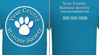 Your Humane Society Paw Design Idea