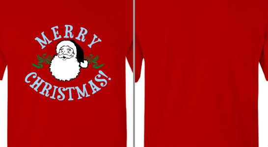 Merry Christmas Santa Design Idea