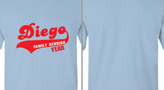 Diego family reunion Design Idea