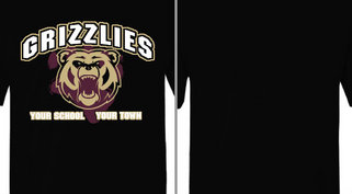 Grizzlies Bear Mascot Design Idea