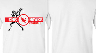 Hawks Mascot Football Design Idea