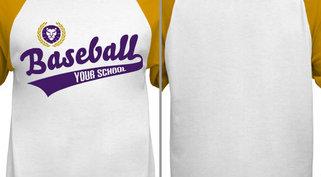 Lions Baseball Design Idea
