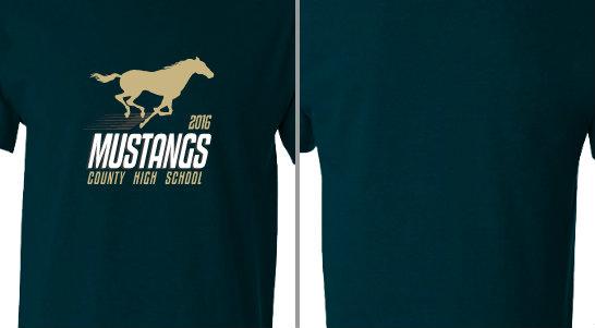Mustangs High School Design Idea