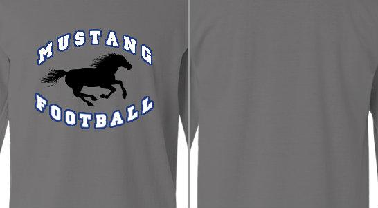 Mustang Football Design Idea