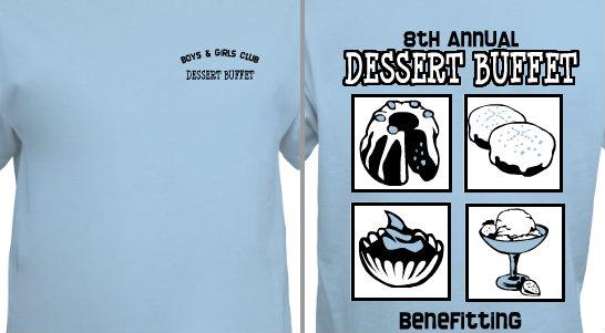 Design Idea Community Dessert Buffet
