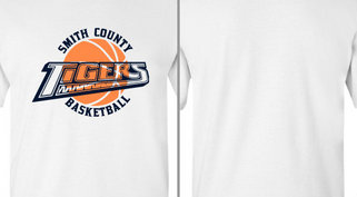 Tigers Text Basketball Design Idea
