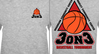 Design Idea Basketball 3 on 3 Tournament