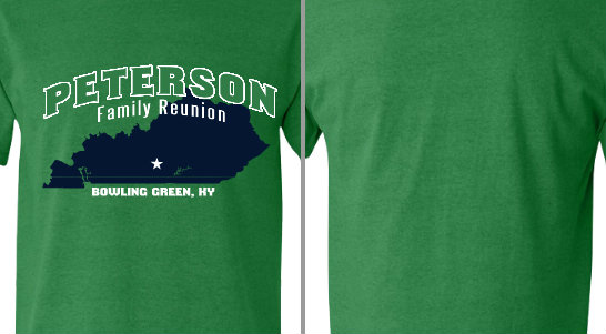 Peterson city state Family reunion Design Idea