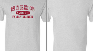 Norris Family reunion design idea