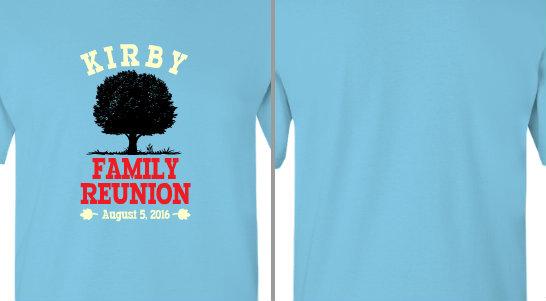 Kirby Family Reunion Design Idea