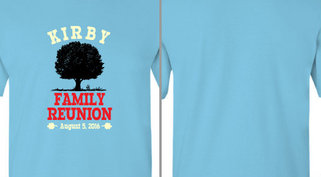Kirby Family Reunion Design Idea