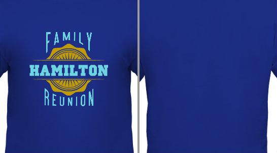Hamilton Family Reunion Design idea