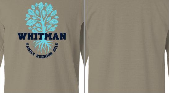 Tree roots Whitman Reunion Design Idea