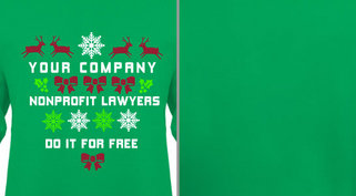 Nonprofit Lawyers Holiday Theme Design Idea