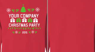 Your Company Christmas Party Design Idea