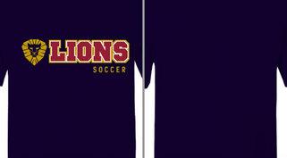 Lion Mascot Soccer Design Idea