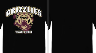 Grizzlies Mascot Track & Field Design Idea