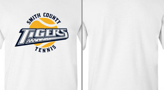 Tigers Text Tennis Design Idea