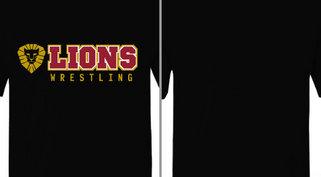 Lions Mascot Wrestling