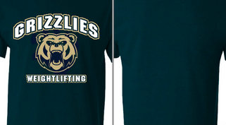 Grizzlies Mascot Weightlifting Design Idea