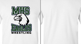 Eagles Mascot Head Wrestling Design Idea