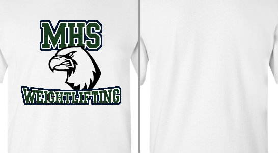 Eagles Mascot Weightlifting Design Idea