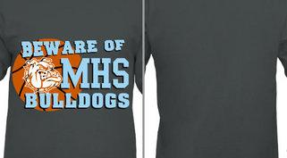 Beware Bulldogs Mascot Design Idea