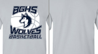 Paw Wolf Mascot Basketball Design Idea