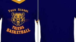 Tigers Mascot basketball design idea